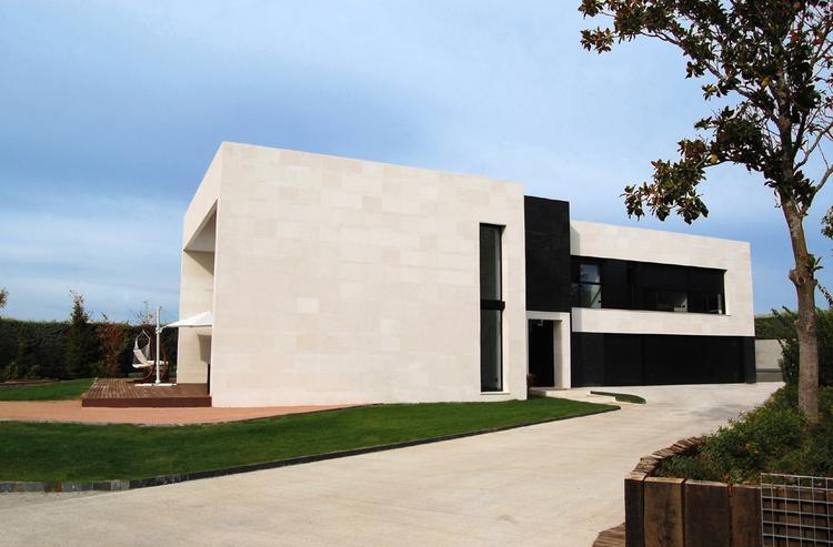 Galeria zdj dom z basenem w hiszpanii wn trza - Marta gonzalez arquitecto ...